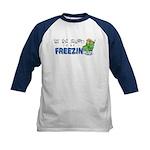 Season to be Freezin' Kids Baseball Jersey