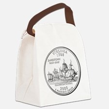 Virginia State Quarter Canvas Lunch Bag