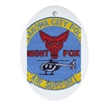 OK City Air Ops Oval Ornament