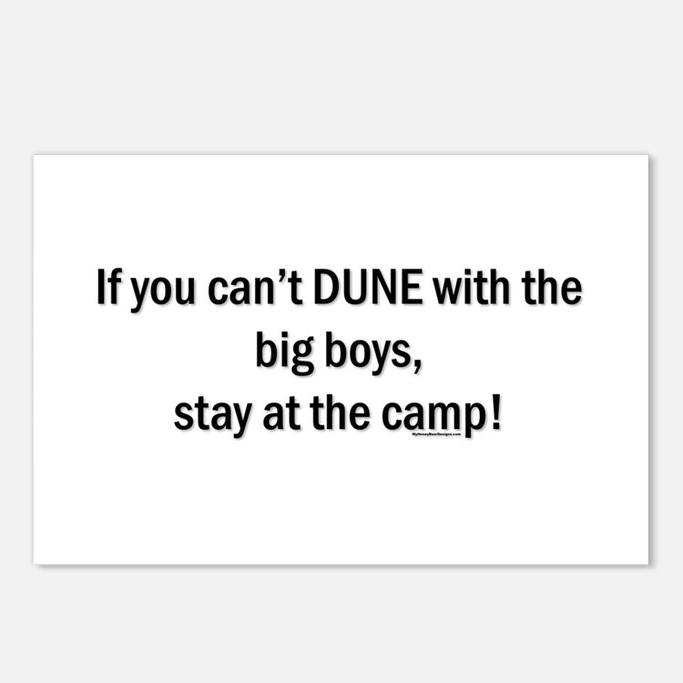 If you can't dune with the bi Postcards (Package o