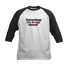 Genealogy it's in my blood Tee