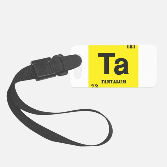 Tantalum.png Luggage Tag
