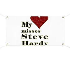 Heart Misses Steve Hardy Banner