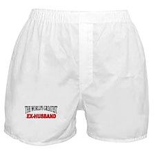 """The World's Greatest Ex-Husband"" Boxer Shorts"