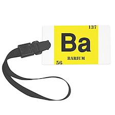 Barium.png Luggage Tag