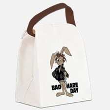 Bad Hare Day Canvas Lunch Bag