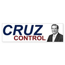 Ted Cruz Control Bumper Sticker