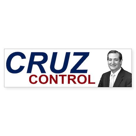 Ted Cruz Control Sticker (Bumper)