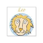 Leo-01.png Square Sticker 3