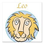 Leo-01.png Square Car Magnet 3