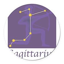 Sagittarius-20.png Round Car Magnet