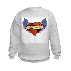 Mother Heart Tattoo Sweatshirt