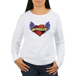 Mother Heart Tattoo Women's Long Sleeve T-Shirt