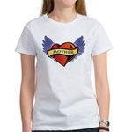 Mother Heart Tattoo Women's T-Shirt