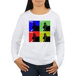 iPray Quad Women's Long Sleeve T-Shirt
