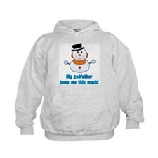 My godfather loves me Hoodie