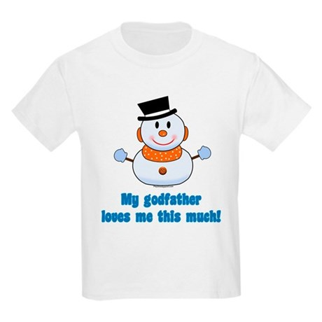 My godfather loves me Kids T-Shirt