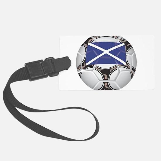 Championship Scotland Soccer Luggage Tag