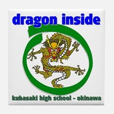 Dragon Inside Tile Coaster