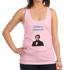 Andrew Johnson Racerback Tank Top