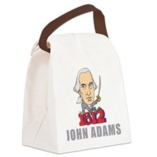John Adams Canvas Lunch Bag
