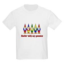 ROllin With My Gnomies Kids T-Shirt