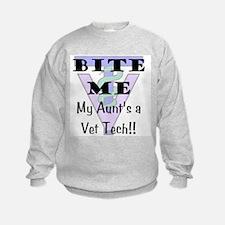 Sweatshirt - Aunt Vet Tech
