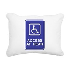 Access-at-Rear.png Rectangular Canvas Pillow