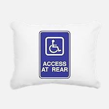 Access-at-Rear.png Rectangular Canvas Pillow