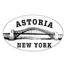 Astoria Hellgate Bridge Oval Decal