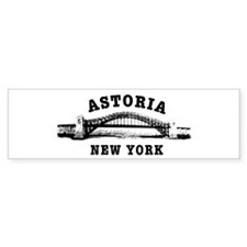 Astoria Hellgate Bridge Bumper Bumper Sticker