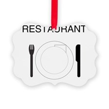 Restaurant Ornament