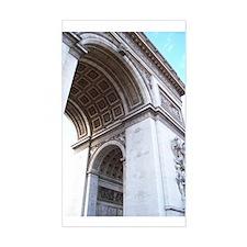 Arc de Triomphe Rectangle Decal