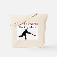 Greatest Hockey Mom Tote Bag