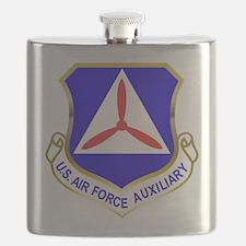Civil Air Patrol Shield Flask