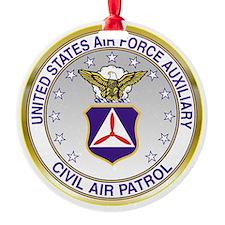 CAP Crest Ornament