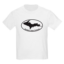 Upper Peninsula Oval T-Shirt