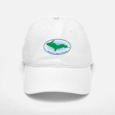 Upper Peninsula Oval Baseball Baseball Cap