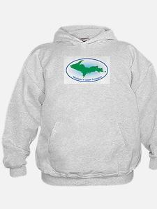 Upper Peninsula Oval Hoodie