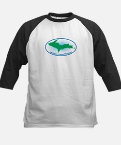Upper Peninsula Oval Kids Baseball Jersey