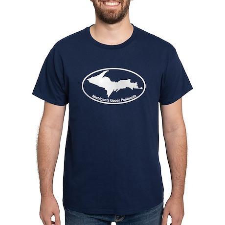 Upper Peninsula Oval Dark T-Shirt