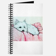 Napping Westie Journal