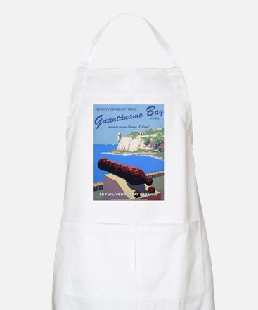 Welcome to Gitmo BBQ Apron