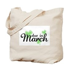 Cute Due in march Tote Bag
