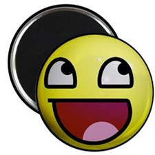 "Epic Smiley 2.25"" Magnet (10 pack)"