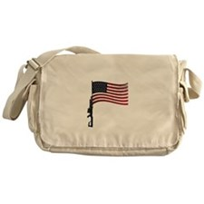 American Gun Flag Messenger Bag