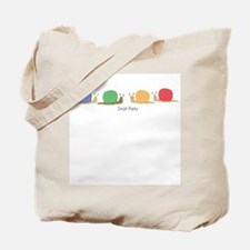 snail party Tote Bag