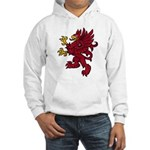Red Gryphon Hooded Sweatshirt