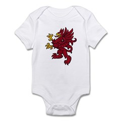 Red Gryphon Infant Bodysuit