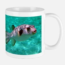 Striped Puffer Fish Mugs